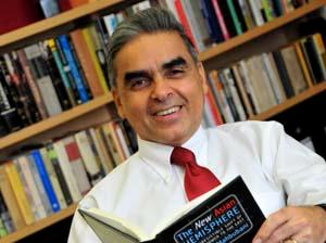 Professor Kishore Mahbubani, Dean of the Lee Kuan Yew School of Public Policy