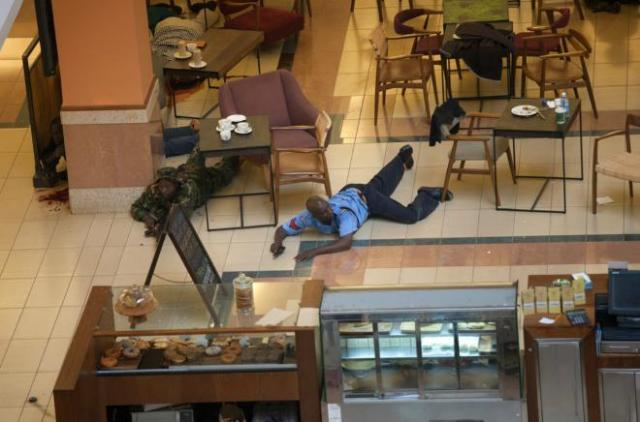 Somali militants from Shabab attack a high-end shopping mall in Nairobi, Kenya