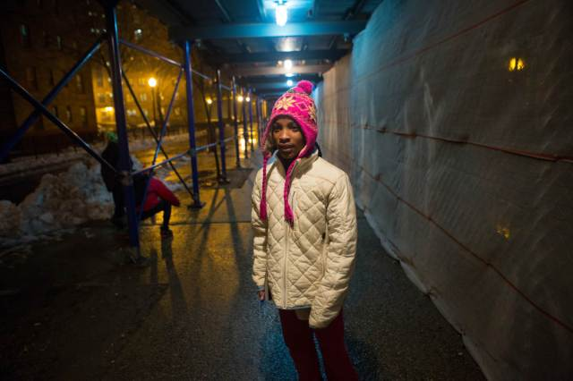 Dasani, a homeless young girl in New York