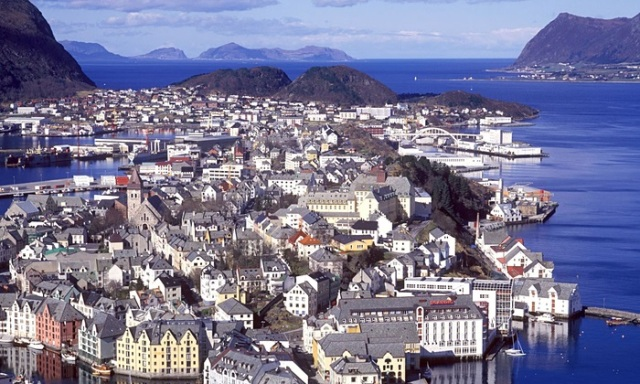 Norway … the nice side, at least.    Photograph: Alamy