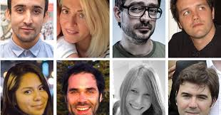 Some of the victims of the coordinated terror attacks in Paris on 13th November