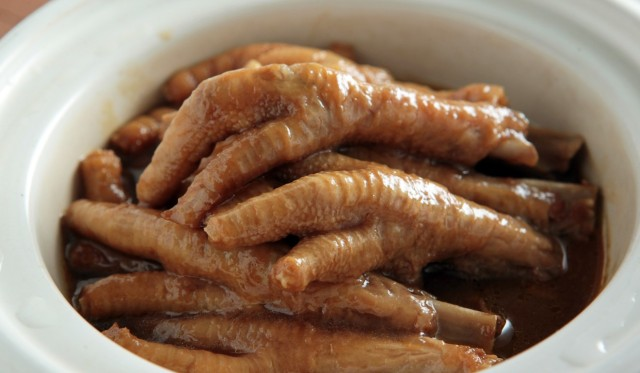 Chicken feet